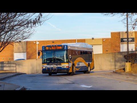 DASH Alexandria Transit Company & Fairfax Connector Bus Mini Action