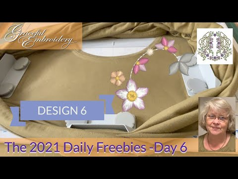 Introducing the 2021 Daily Freebies - Day 6
