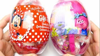 Candy Egg XL Minnie Mouse and Tolls Gift Egg