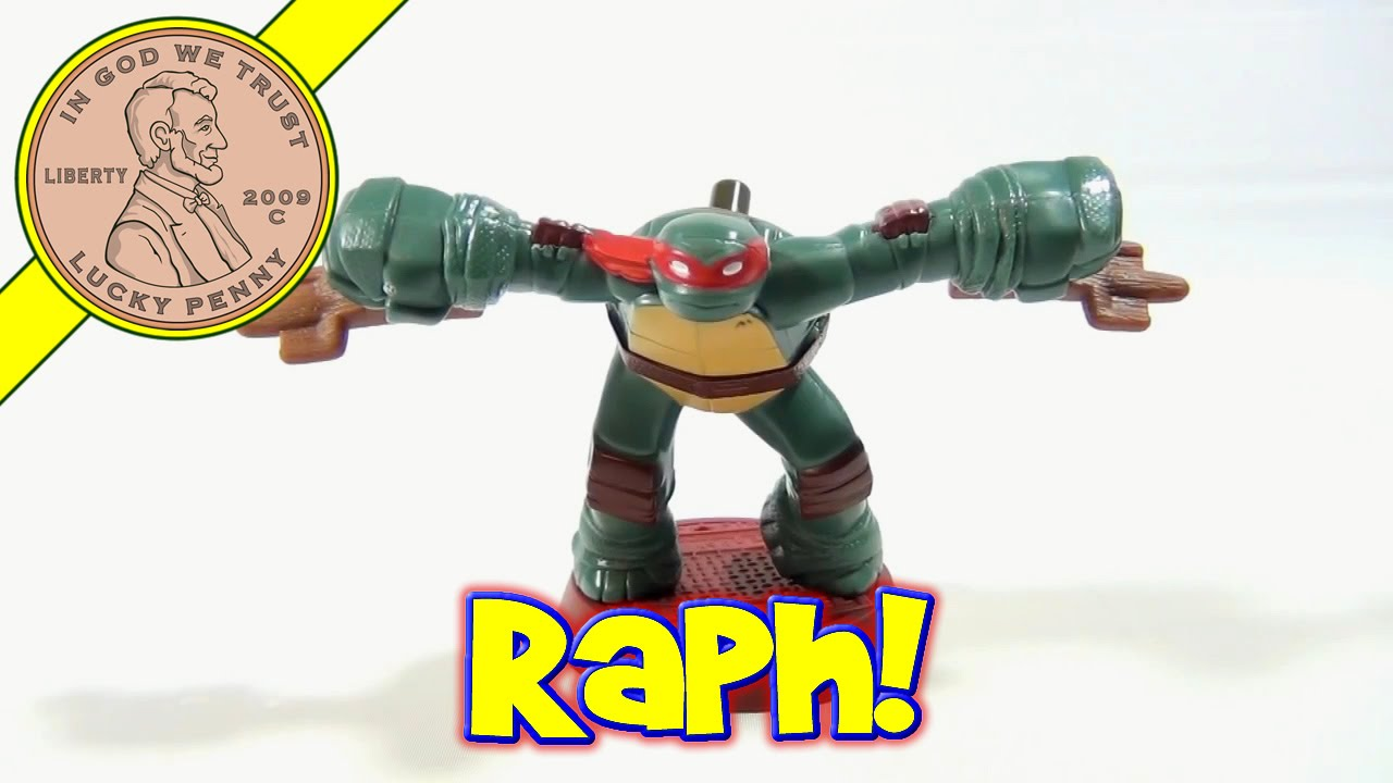 5 Raphael Mcdonald S 2012 Tmnt Happy Meal Toy Teenage Mutant
