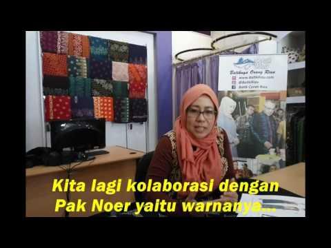 BATIK RIAU LANCANG KUNING DIMINATI MASYARAKAT (video ke-1)