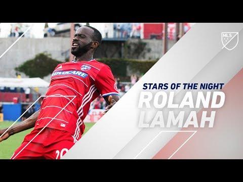 Stars of the night: Roland Lamah vs. Real Salt Lake