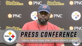 Tomlin previews Bengals, preparing with an edge | Pittsburgh Steelers