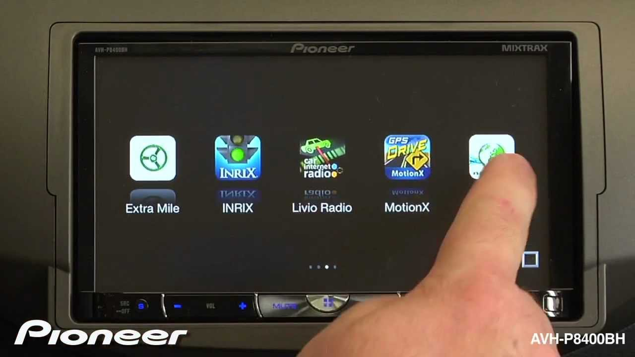 Pioneer Avh P8400bh Wiring Library P3200dvd Firmware Update How To Advanced App Mode Youtube