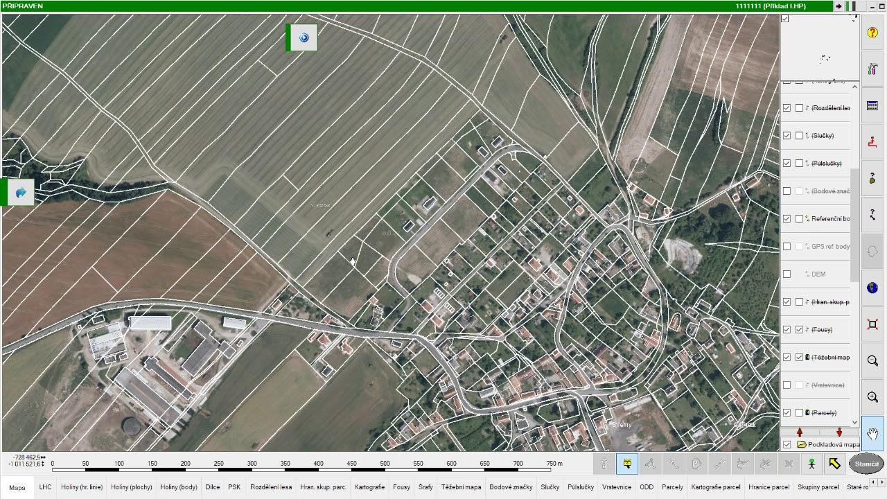 Field Map Czetax Prohlizec Katastralni Mapa Udaje Z Katastru