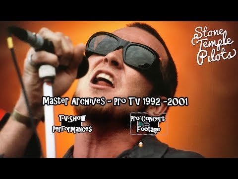 Stone Temple Pilots - Pro TV Master Archives 1992 - 2001 - (Late Night TV & Concert Footage)