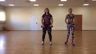 постер к видео Мини-Тренировка для людей с избыточным весом.