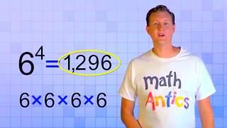 Math Antics - Expoฑents (My Edited Video)