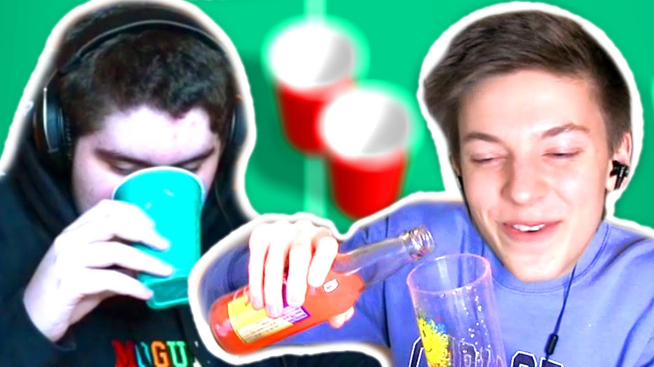 I Play Gross Cup Pong with my Boy Friend