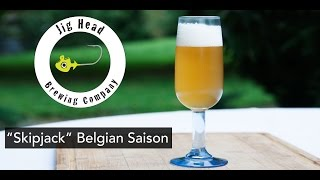 Jig Head Brewing Belgian Saison Beer