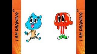 #49 Drawing Gumball Watterson & Darwin Watterson