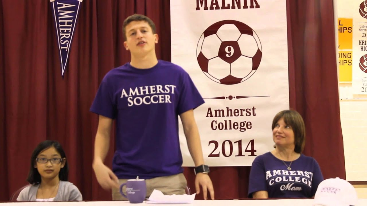 Sam Malnik Thanks Family, Friends and Faculty