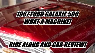 Zuc's 1967 Ford Galaxie 500 | FE BIG BLOCK STROKER! | RIDE ALONG AND CAR REVIEW!