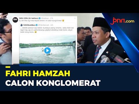 Fadli Zon Sebut Fahri Hamzah Calon Konglomerat
