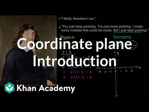 Introduction to the coordinate plane | Introduction to algebra | Algebra I | Khan Academy