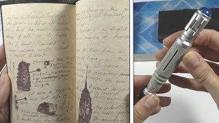 Доктор Кто - журнал и ручка в виде звуковой отвертки | подарок от подписчика