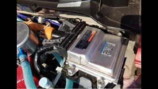 アルトワークス Red号ハイオク専用車にリボーン^^ 推定80馬力 ECUの事を話しながらドライブ