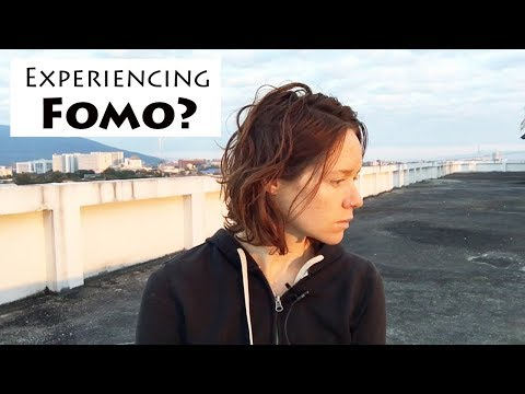 """FOMO getting you down?    What I Do When I Have a """"Fear of Missing Out"""""""