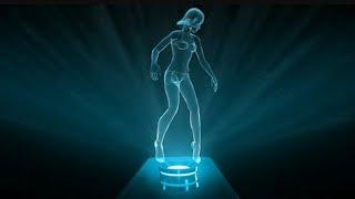 Como hacer un holograma simple para telefono oh tablet