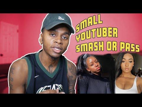 Small Youtuber Smash Or Pass Ft. Yungnena, Slaybyshaurri, MsDomination, Plus More!