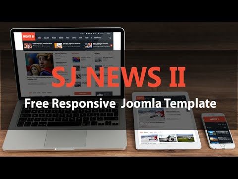 Quick Tour: SJ NEWS II - Free Responsive Joomla Template
