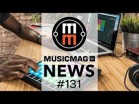MusicMagTV News #131: Novation Launchpad MK3, загадка от Behringer, виниловый «резак» Phonocut и др.