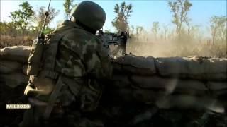 Автомат AUG A2, пулеметы FN MAG и FN Minimi  Солдаты австралийской армии на учениях