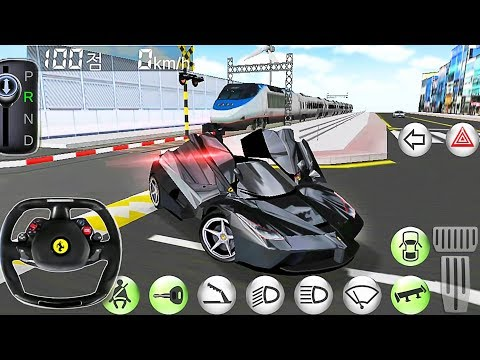 Car Driving Ferrari Simulator – Driver's License Examination Simulation – Best Android Gameplay