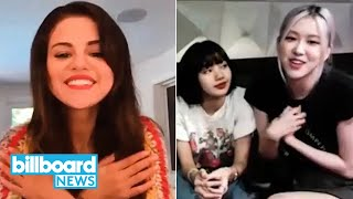 "Selena gomez chats with blackpink about their upcoming single ""ice cream,"" bts' ""dynamite"" is already breaking records on the billboard charts, two previousl..."