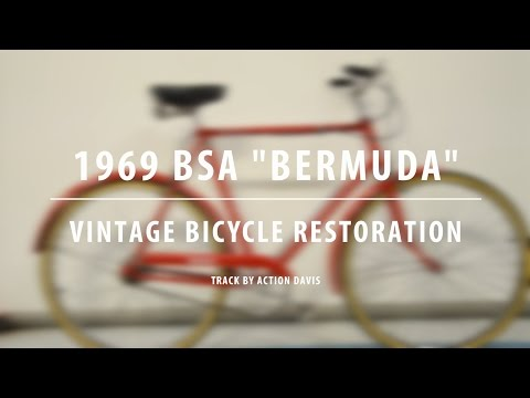 "1969 BSA ""Bermuda"" - Vintage Bicycle Restoration"