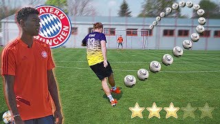 FC Bayern Munich PRO David Alaba RATES our FREE KICKS 😱