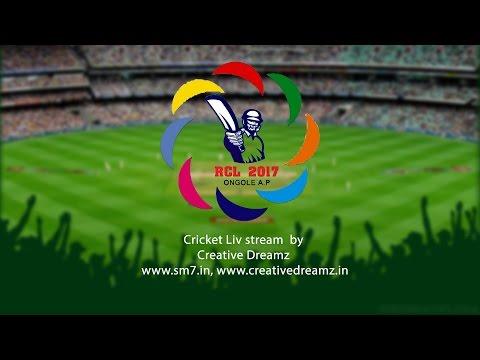 Live : RCL Cricket league Live 12-03-2017 II SM7 II Creative Dreamz