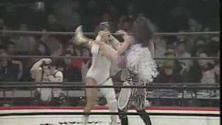 横浜美神王国VICTORY 95.3.26横浜アリーナ 第4試合 Jaguar Yokota , La...