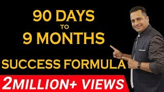 90 Days to 9 Months Success Formula, A High Power Motivational Video by Vivek Bindra (Hindi)