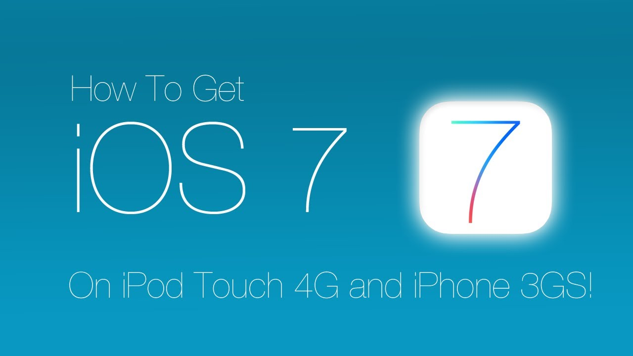 Ipod Ios 7 Get Ios 7 on Ipod Touch 4g And