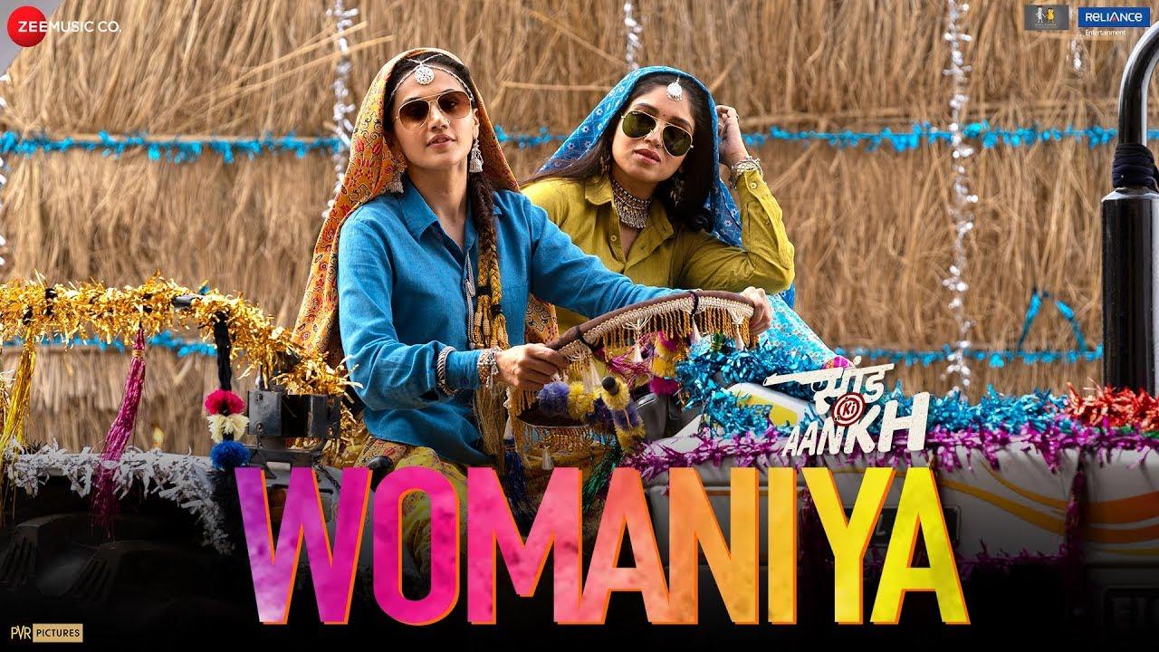 Womaniya - Saand Ki Aankh | Bhumi P , Taapsee P | Vishal Mishra ft.Vishal Dadlani | Raj S | Tushar H