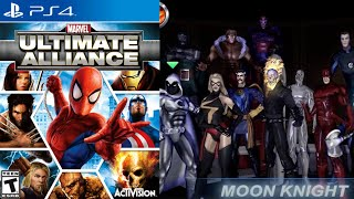 Marvel: Ultimate Alliance [18] PS4 Longplay