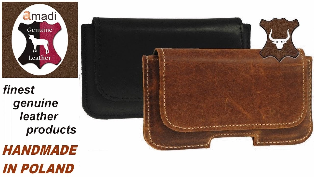 Ricardsson Genuine Leather Belt Loop Pouch Holster For