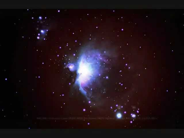 Orion nebula m bresser skylux ng clipzui
