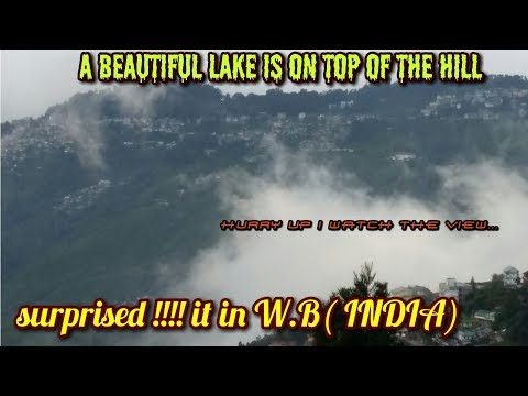 You know ? Beautiful Lake(Jhill)on the Hill top in West Bengal !!