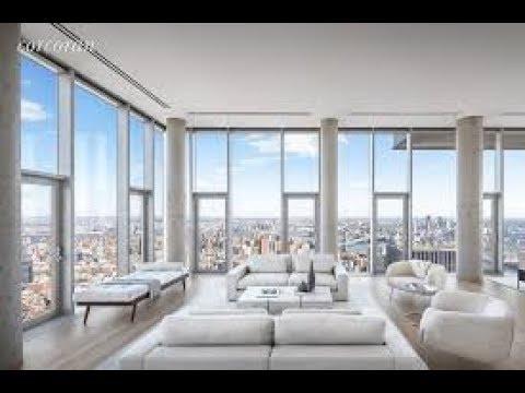 56 Leonard Penthouse 57 29.5 Million dollars NYC Apartment tour in Tribeca