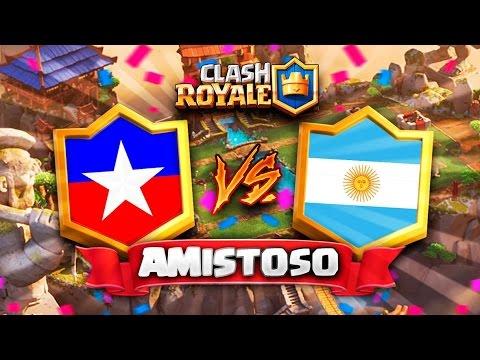 """CHILE vs ARGENTINA // Clash Royale """"Clasico de los Andes"""" en DIRECTO - Preparacion CR Worlds"""