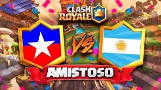 CHILE vs ARGENTINA // Clash Royale