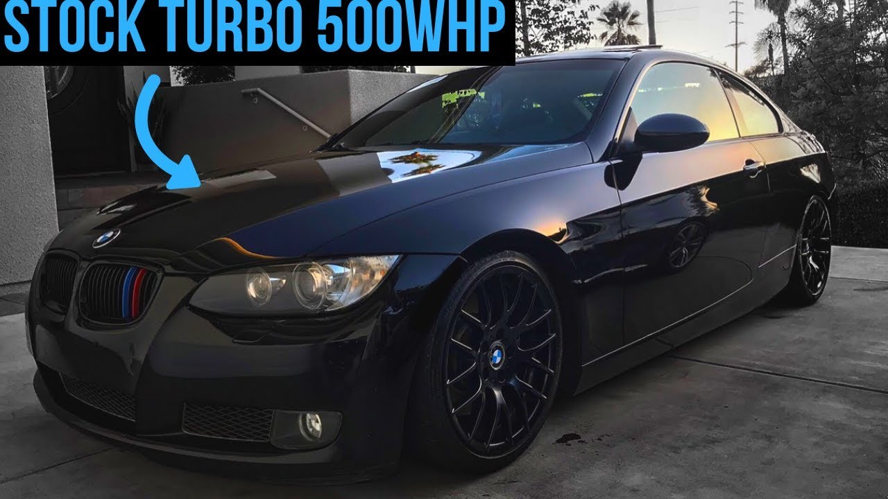 How To Get 500WHP On Stock Turbos With A BMW 335i (N54)