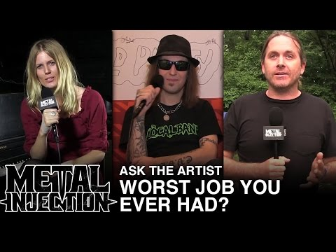 ASK THE ARTIST: Worst Job You Ever Had? | Metal Injection