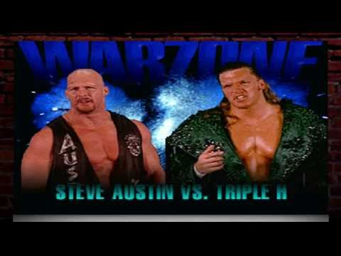 WWF War Zone PlayStation 1 Stone Cold Steve Austin Challenge Mode