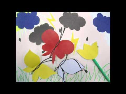 Сказка про 3х бабочек