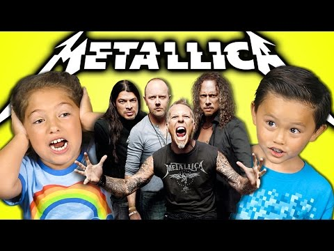KIDS REACT TO METALLICA