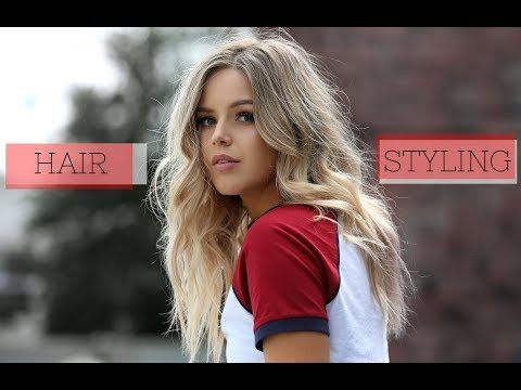 Super Quick & Easy Way of Styling Long Hair
