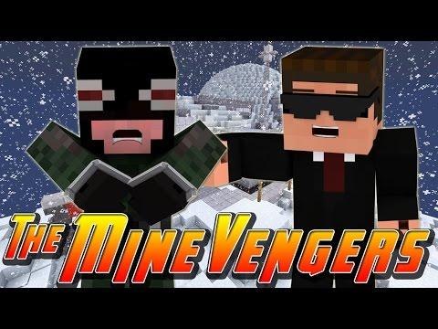Minecraft MineVengers - NEW ARCTIC BASE!!
